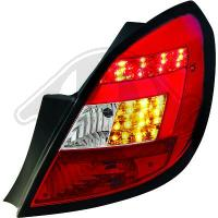 Baklyktor design i par.Opel.Corsa D 3/5 trg. 06-10
