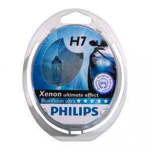 Philips Blue Vision Ultra H7 (Twin Pack)