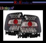 Svarta LED baklampor till Audi A4 sedan