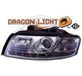 """Audi..""""DragonLights"""" Daylight/Parkeringsljus i slinga..Ett par designstrålkastare"""