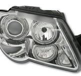 Angel Eyes headlights VW Passat 3C / Chrome