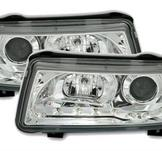 Headlight m. LED VW Passat B4 35i / Chrome