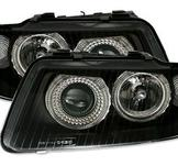 Angel Eyes strålkastare Audi A3 8L 9/00- / Black