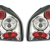 Bakljus för Audi A3 8L i klarglas Chrome
