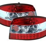 LED-baklyktor Audi A3 8P Limo / röd