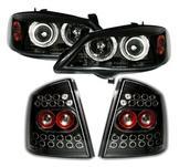 Angel Eyes + Bakljus + Opel Astra G / Svart