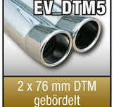 "SuperSport Tips variant DTM5 ""2x76mm DTM fl""nsade rim"