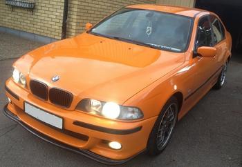 BMW E39 i Gnosjö. KUNDBILD!