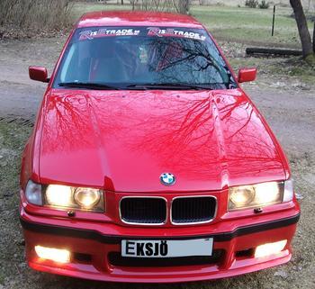 BMW E36, Eksjö. KUNDBILD