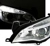 Designstrålkastare Opel ASTRA med LED slinga