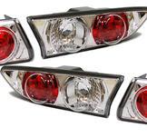 Bakljus klarglas krom. Alfa Romeo 156