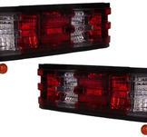 Rödvita baklampor till Mercedes 190E W201