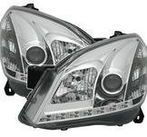 Strålkastare m. Lysdioder för Opel Astra H Chrome