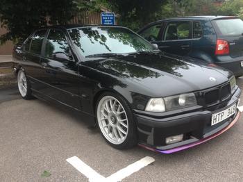 BMW E36, Växjö. KUNDBILD
