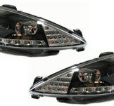 Peugeot 206 Strålkastare DRL/LED