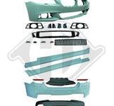 BMW F10. Spoiler/kjolkit M-sport från 2013-