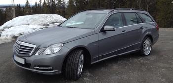 KUNDBILD Mercedes T-model W212 Östersund