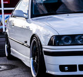 BMW E36, Junsele. KUNDBILD