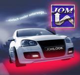 Under-Car Kit, LED röd, flexibel, med radiostyrning, 23 program + ljudkontrol