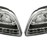 Dayline DRL Strålkastare Audi A4 B7 i Chrome