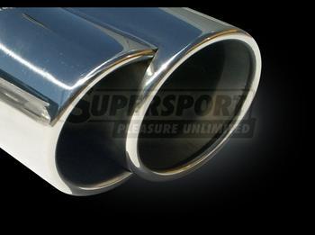 AUDI..Ljuddämpare rostfritt stål..slutljuddämpare..A4 I
