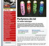 Zexx på bilsports hemsida mars 2012