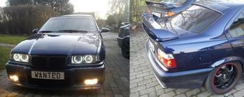 BMW E36, 328i  i Helsingborg. KUNDBILD